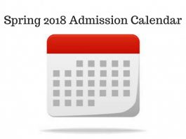 Spring 2018 application Deadlines for MBA in USA