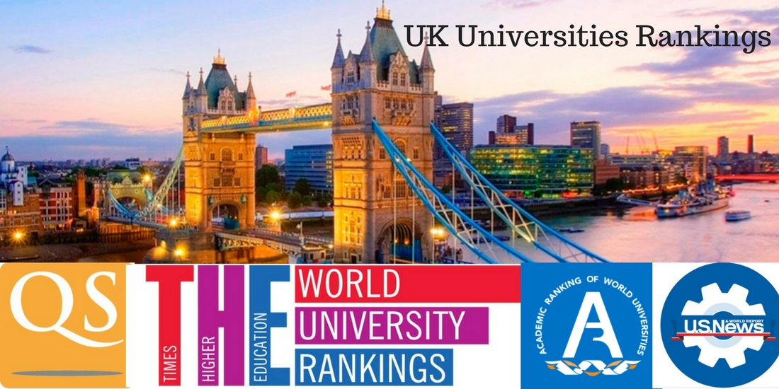 rankings of uk universities 2017 2018 qs the arwu us news rankings