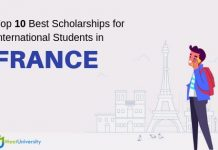 Top 10 scholarships for international students in France